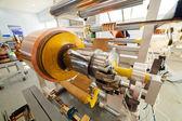 Copper foil bending machine — Stock Photo