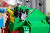 Detail of woodworking machine — Stock Photo