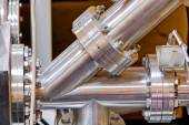 Detail of machinery in physics laboratory — Stock Photo