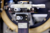 Detail of machinery in physics laboratory — Stock Photo