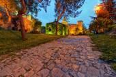 Belgrad Kalesi ve kalemegdan park — Stok fotoğraf