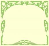框架的新艺术风格. — 图库矢量图片