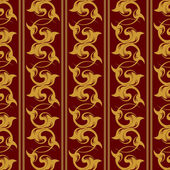 Vektor-wiederholendes Muster mit floralen Ornament im Vintage-Stil. — Stockvektor