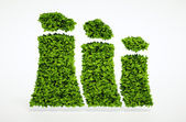 Ecology sustainable energy concept — Stock Photo