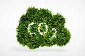 Eco CO2 symbol — Stock Photo