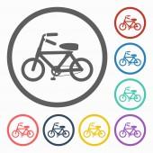 Bike icon — Stock Vector