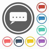 Comments icon — Stock Vector