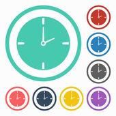 ícone de relógio — Vetorial Stock