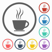 Coffee cup icon — Stock Vector