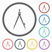 Divider icon — Stock Vector