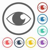 Augensymbol — Stockvektor