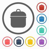 Pot icon — Stock Vector