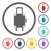 Luggage icon — Stock Vector