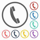Telefoonpictogram — Stockvector