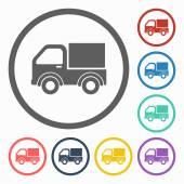 Pickup truck icon — Stock Vector