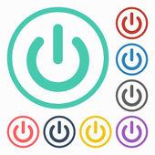 Start power icon — Stock Vector