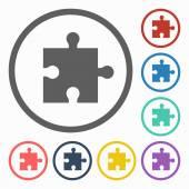 Puzzle icon — Stock Vector