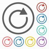 Aktualizovat ikony — Stock vektor