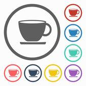Tea cup icon — Stock Vector