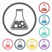 Test tube icon — Stock Vector