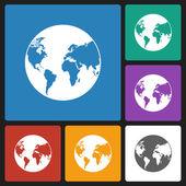 World icon — Stock Vector