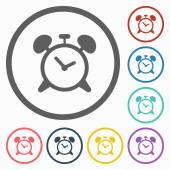 Alarm clock icon — Cтоковый вектор