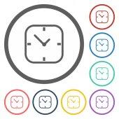 Clock icon — Cтоковый вектор