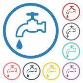 Faucet icon — Stock Vector