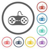 Game controller icon — Vetor de Stock