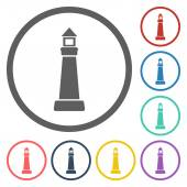 Lighthouse icon — Stock Vector