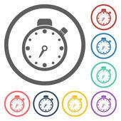 Stopwatch icon — Cтоковый вектор