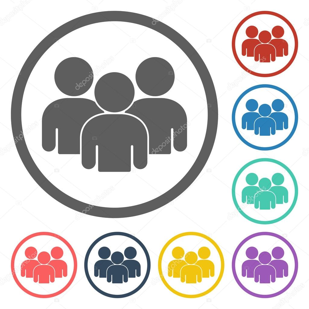 Group people icon — Stock Vector © T-Kot #56718397