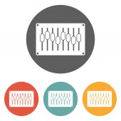 Equalizer icon — Stock Vector