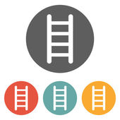 Icono de la escalera — Vector de stock