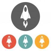 Rocket icon — Stock Vector