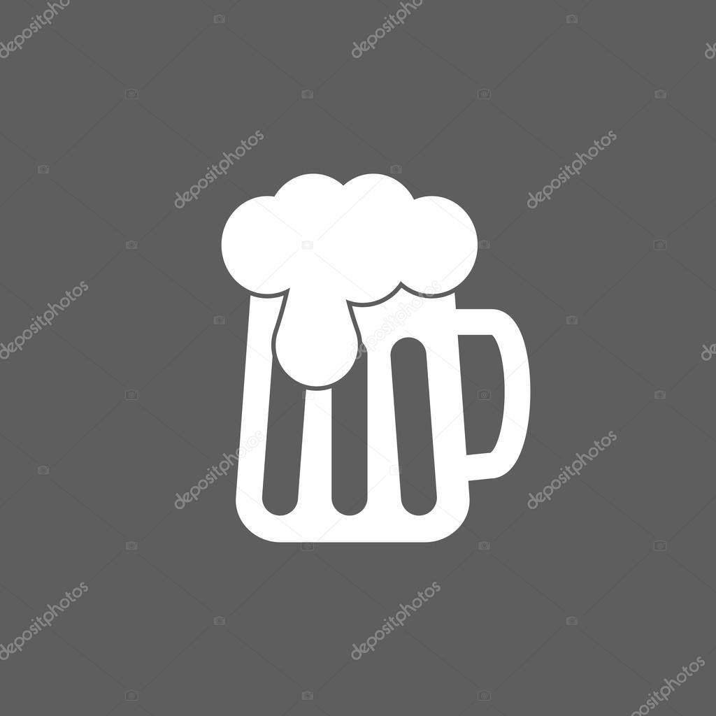 啤酒图标 — 矢量图片作者 t-kot