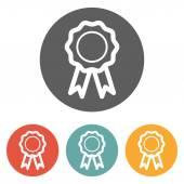 Rosette icon — Stock Vector