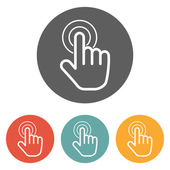 Hand click icon — Stock Vector