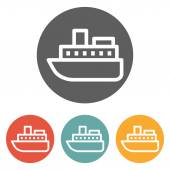 Cruise icon — Stock Vector
