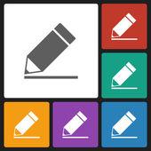 Pencil icon — Stock Vector