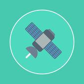 Satellite icon — Stock Vector