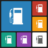 Gas pump icon — Stock Vector