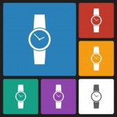 Watch icon — Stock Vector