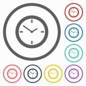 Klockikonen — Stockvektor