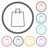 Shopping bag icon — Stock Vector