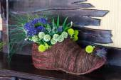 Floristic composition in the boot of the rods. — Stock Photo
