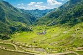 Tarasy ryżowe w Filipiny. Położona jest w dolinie amo — Zdjęcie stockowe