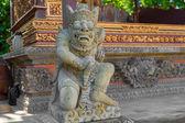 Statue in Pura Taman Ayun - hindu temple near Mengwi, Bali, Indonesia — Stock Photo