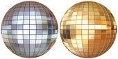 Disco mirrorballs  — Stock Photo