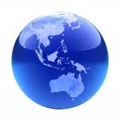 Glassy globe.Australia  — Zdjęcie stockowe